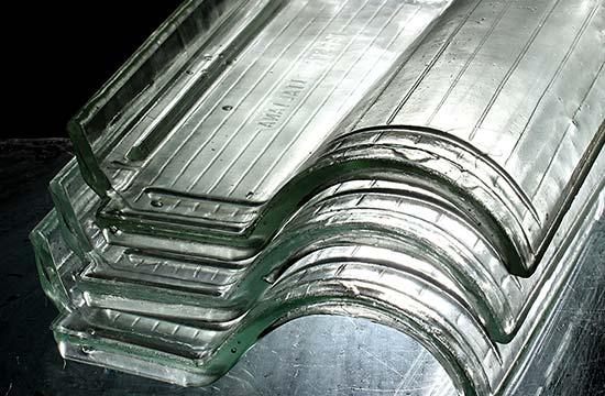 Telhas Transparentes de Vidro